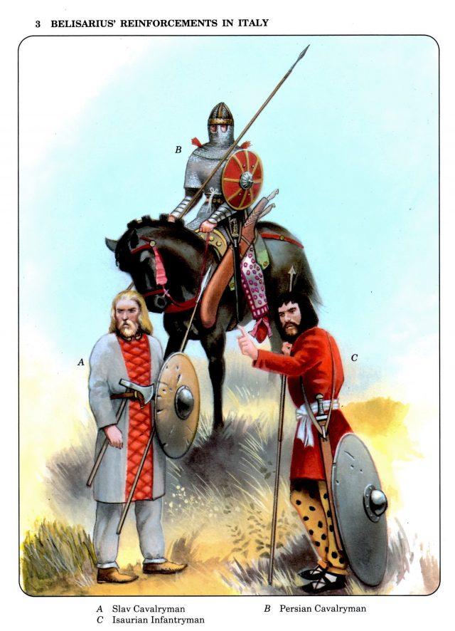 Belisarius' Reinforcements in Italy