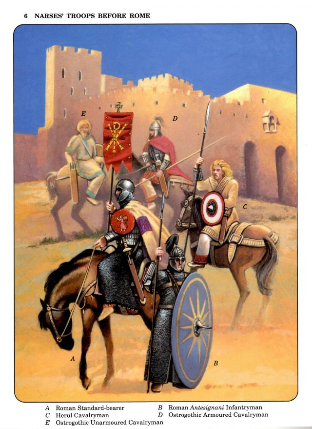 Narses' Troops Before Rome