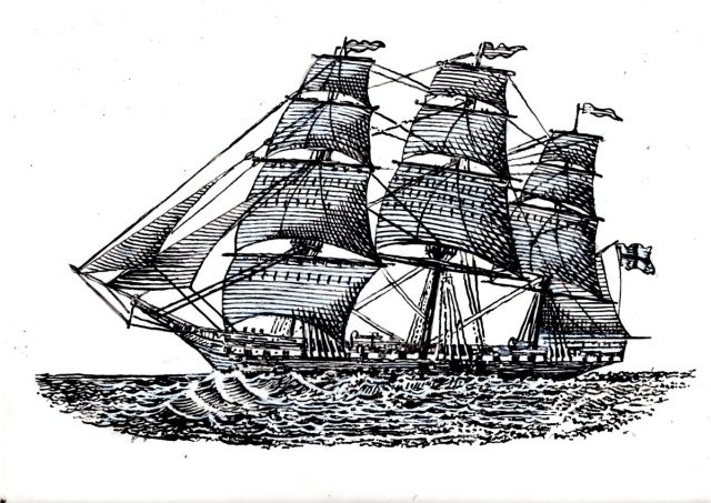 Full Rigged Ship